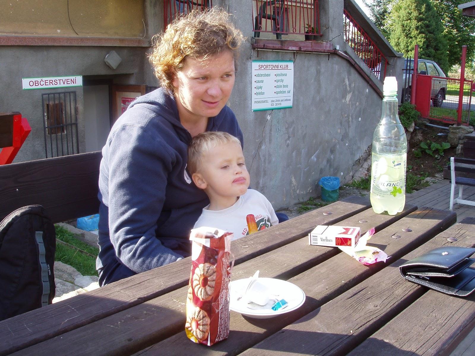 2006 soustředění Jiřetín pod Jedlovou