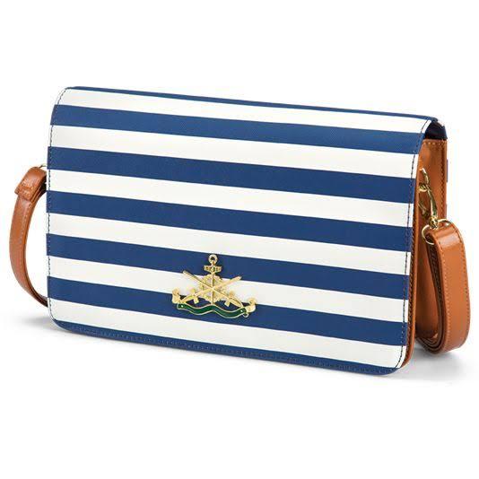 Fashion Navy Tote Bag
