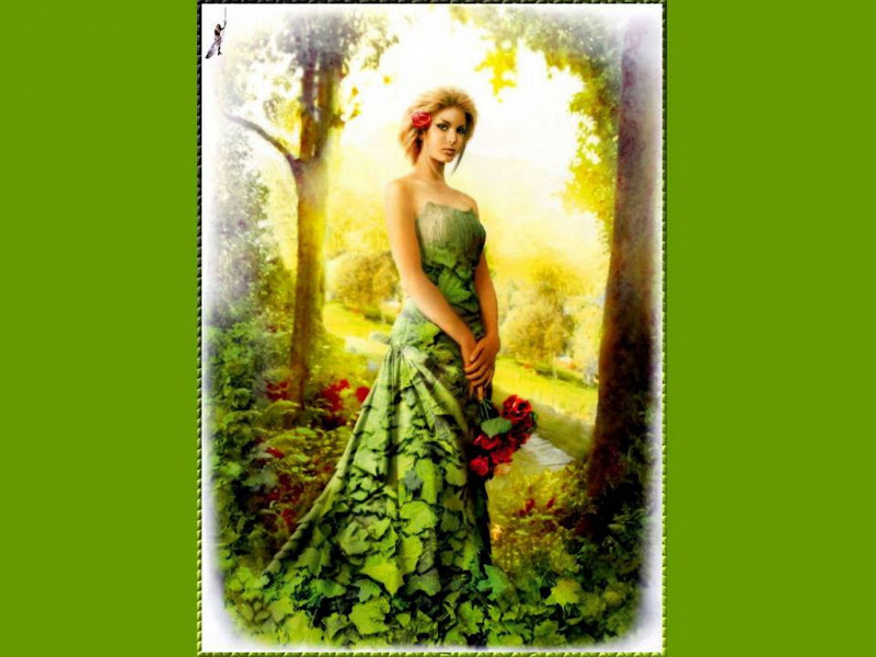 Green Beauty Of Forest, Fairies 4