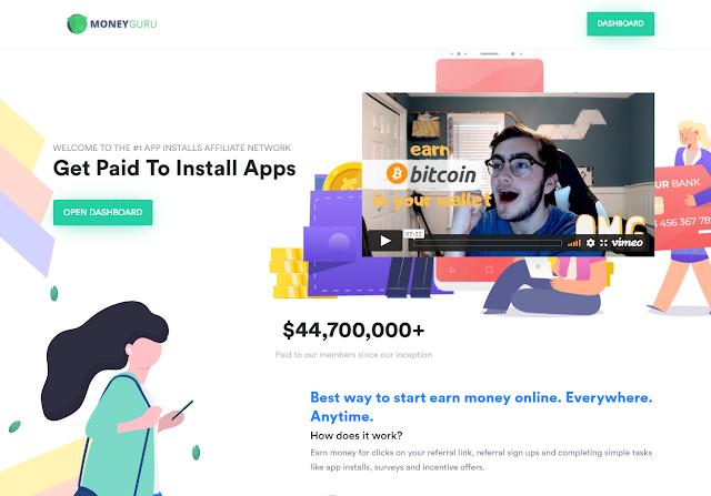 Site para ganhar dinheiro baixando aplicativos