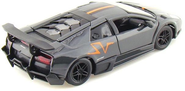 Hình ảnh tinh tế bắt mắt của chiếc Murcielago LP670-4 SV China Limited Edition màu đen