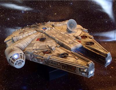 Millennium Falcon 1 72 Scale With Lights Probuilt Scifi
