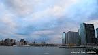 Sonnenaufgang in New York (Long Island - Upper Manhattan)