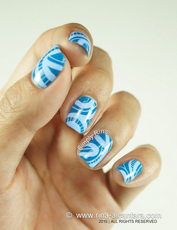No Direction Nail Art