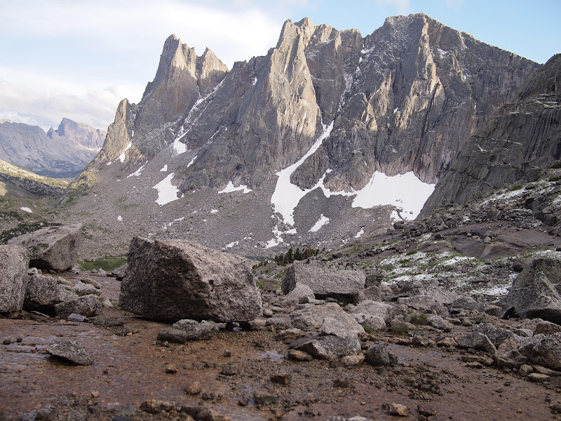 The quick change weather in the Cirque of Towers
