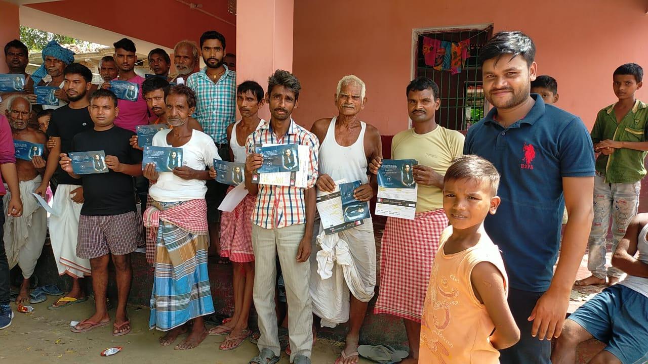गरख़ा में पुष्पम प्रिया चौधरी की पुलरल्स पार्टी के हजारों युवा ने सदस्यता ग्रहण किया।