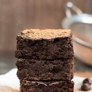 Dark Chocolate Black Bean Brownies