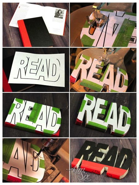How to cut a book into words