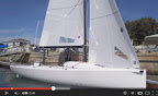 J/70 Ullman Sails Newport Beach testing- California