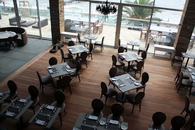 BRUNO restaurant in the Avala Resort in Budva