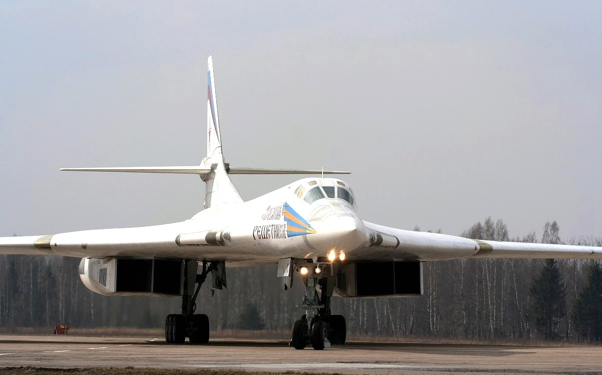 Tupolev Tu-160 Bomber Aircraft Wallpaper 4