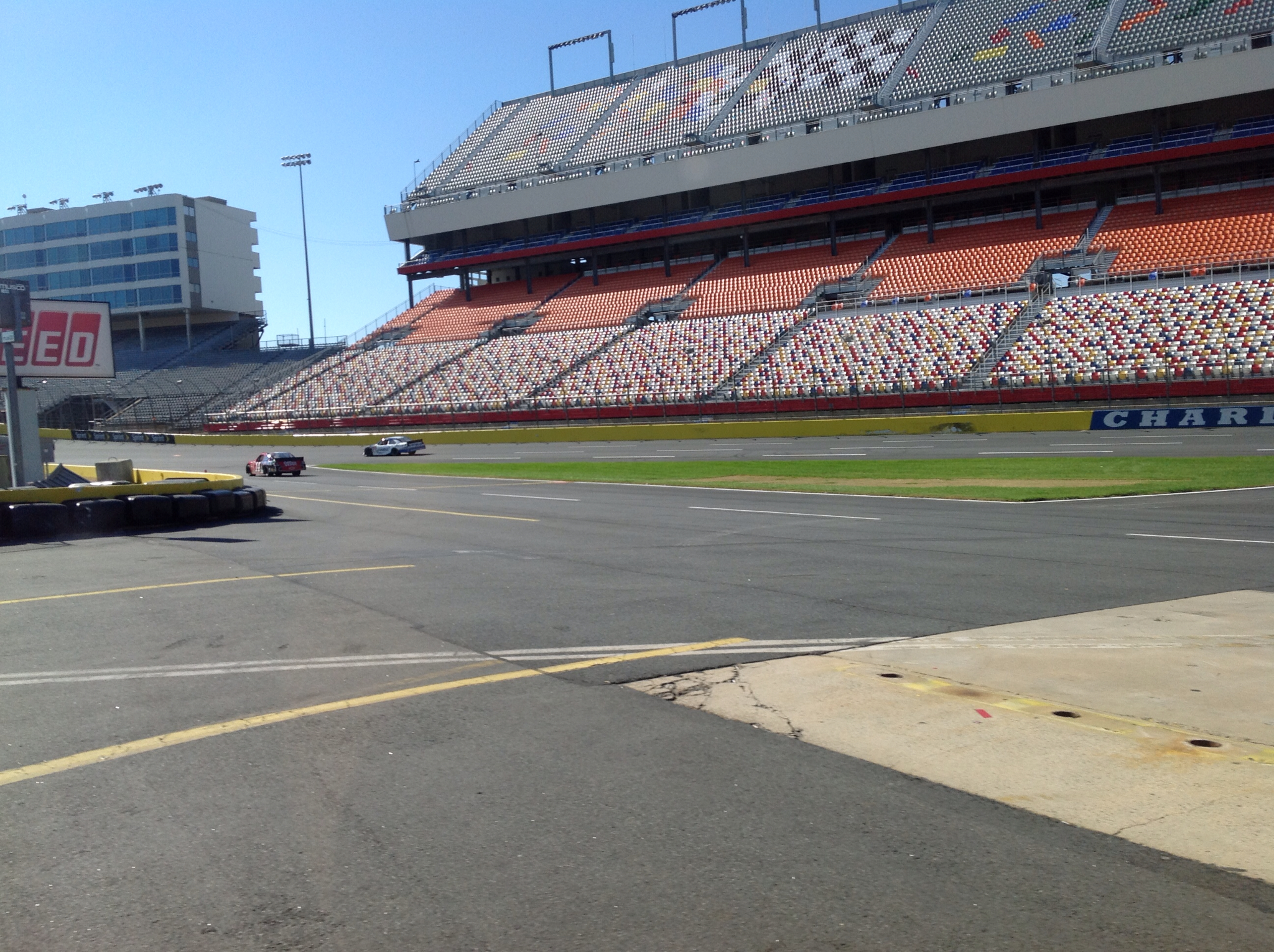 The pride is on the move our charlotte motor speedway tour for Charlotte motor speedway tours