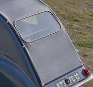 Citroën 1955 2 CV capote longue grande fenêtre