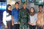 Asa Hasrin, Adik Alm Praka Anm Risno Jadi Tentara