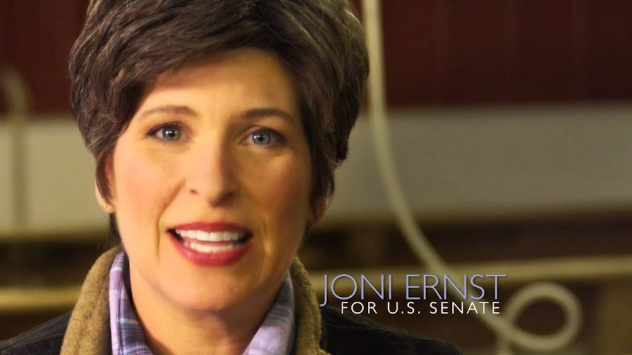 Sen. Joni Ernst replies to SOTU