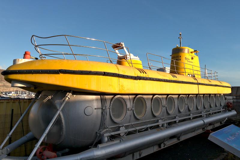 Submarinul galben chiar exista, in schimb din pacate nu e locuit.