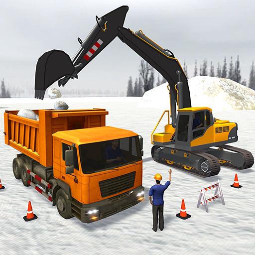 Snow Excavator Machine - Construction Crane 2019