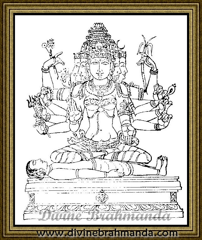 Soundarya Lahari Sloka, Yantra & Goddess To Promote Intelligence - 65