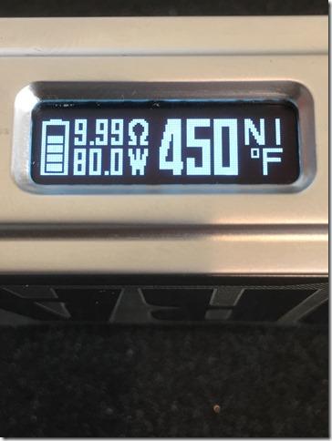 IMG 9050 thumb1 - 【爆速スタックMOD】VOOPOO DRAG with Gene chip(ブープー ドラッグ ウィズ ジェネ チップ)MOD【レビュー】~今まで使ったスタックのMODで一番すごいんじゃないかな~編~