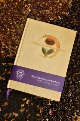 christmas gift ideas, Coffee Bean + Tea Leaf 2012 Giving Journal, Christmas, products