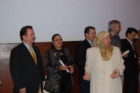 15 ANIVERSARIO del CCIV.  José Manuel Girones, Fatima Zahra, Ahmed, Guillermo y José Manuel López.
