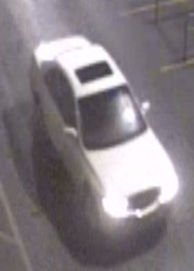 SUSPECT VEHICLE CLOSEUP