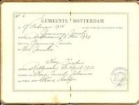 Groeneweg, Cornelis en Kooij, Geertrui Trouwboekje a.jpg