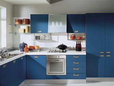 New Home Design Ideas Modern Kitchen Designs In Blue