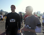 Mike and Will after the race.