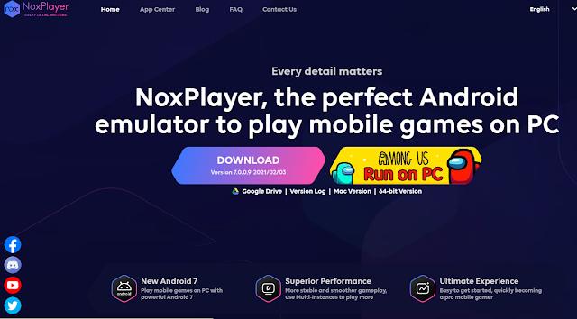 تحميل محاكي الأندرويد NoxPlayer