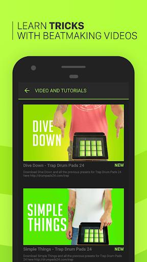 Trap Drum Pads 24 - Make Beats & Music screenshot 3