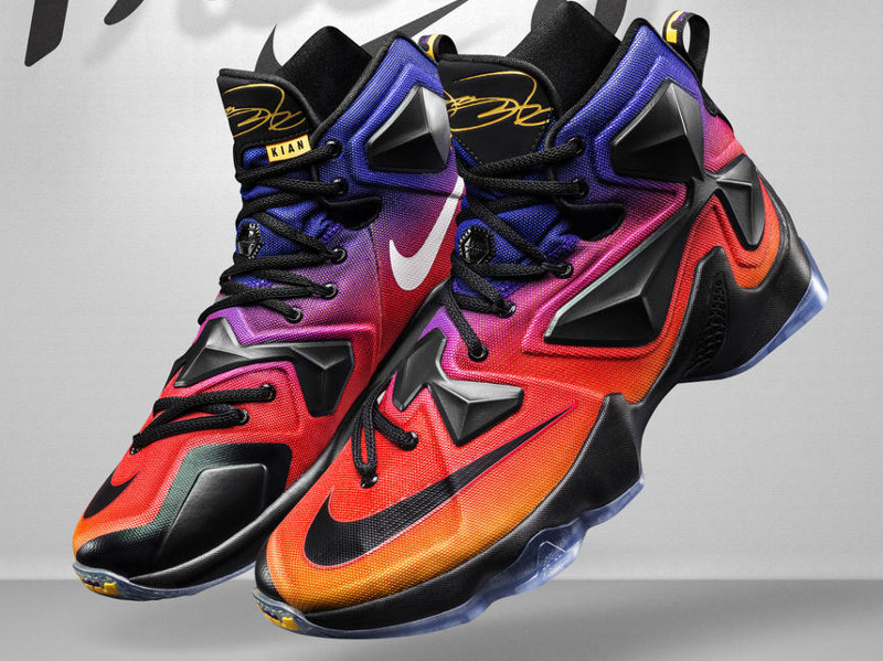 san francisco edc05 3f69a Nike LeBron 13 Joins the Doernbecher Freestyle Collection ...