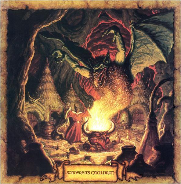 Sorcerer Cauldron, Wizards