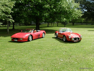 1000Cobra and F348 - Front