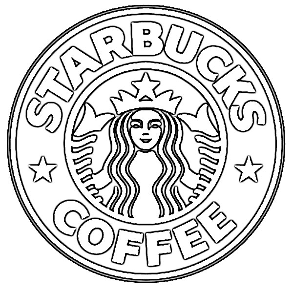 New Starbucks Coffee Logo Sketch
