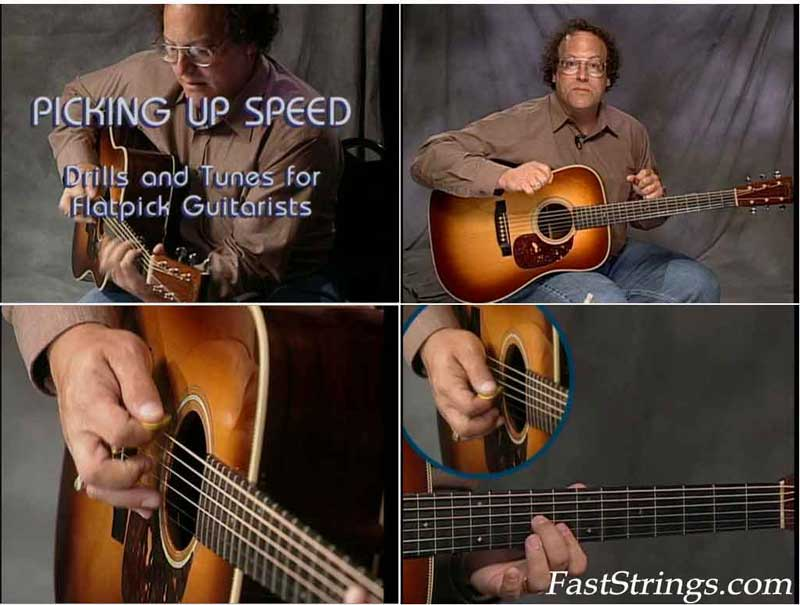 Steve Kaufman: Picking Up Speed - Drills and Tunes for Flatpick Guitarists