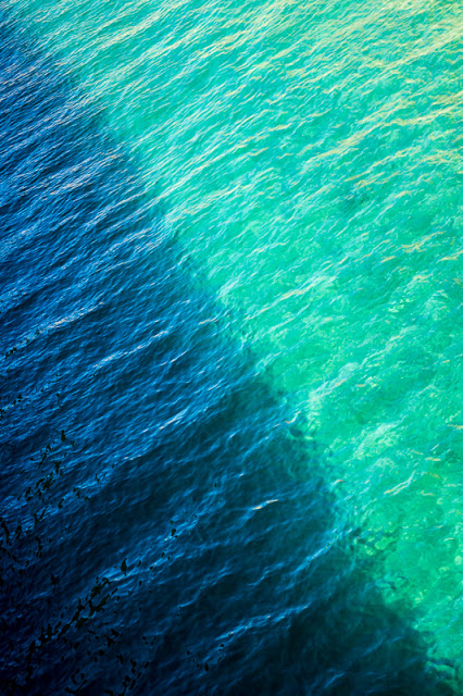 línea como separación entre colores