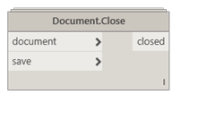 Document.Close