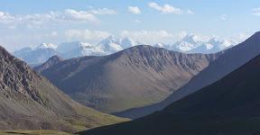 Paysage d'Asie centrale