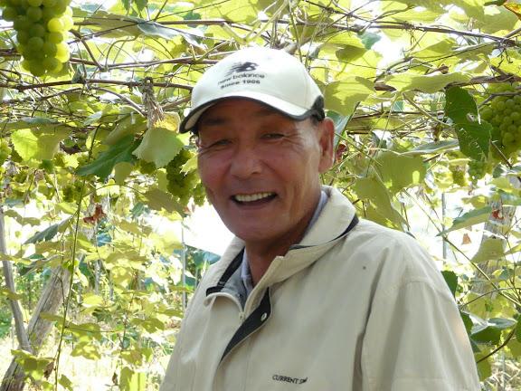 飯田さんも笑顔です