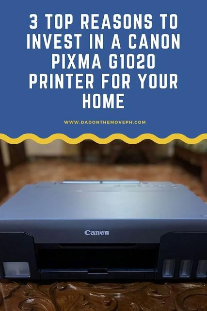 Canon Pixma G1020 review