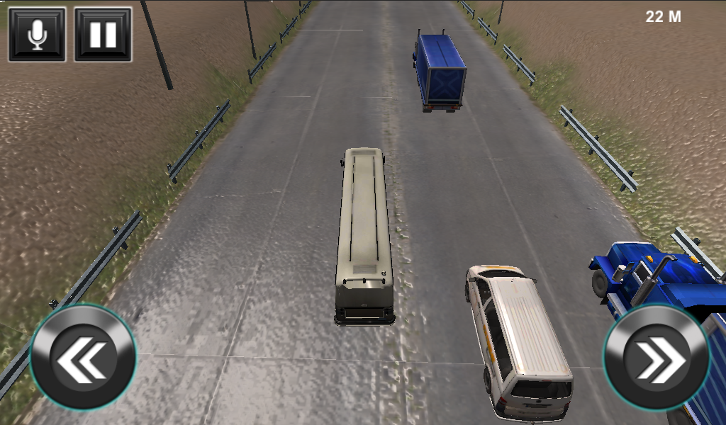 Bus Highway Traffic Simulator- screenshot