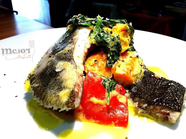 rodaballo con crema de curry verde restaurante a domicilio Mejor en casa