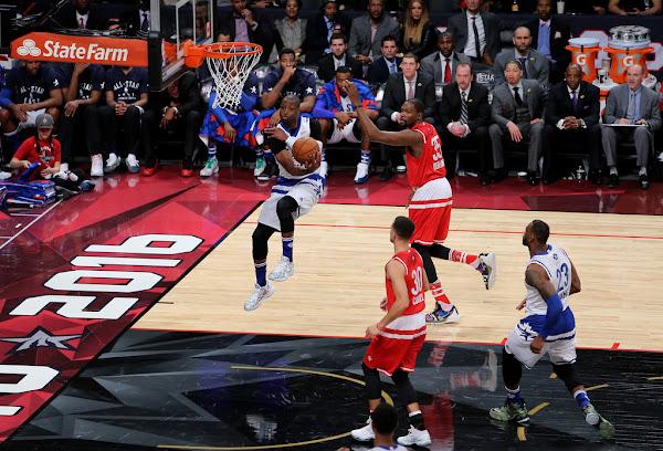 King James Wears Nike LeBron 13 in 2016 NBA AllStar Game