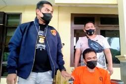 Polisi Tangkap Pria yang Masukkan Ulekan Cobek ke Kemaluan Istrinya di Sumsel