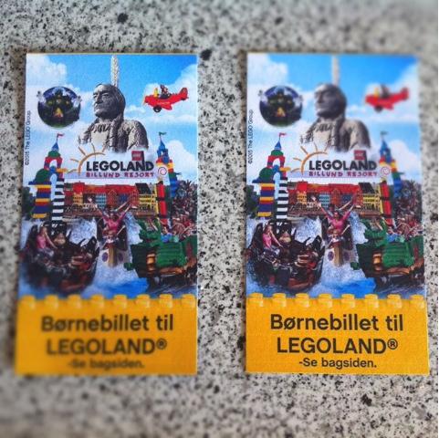 gratis børnebilletter til legoland