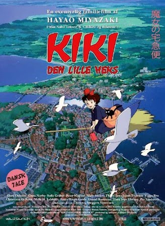Poster Of Kiki's Delivery Service 1989 In Hindi Bluray 720P Free Download