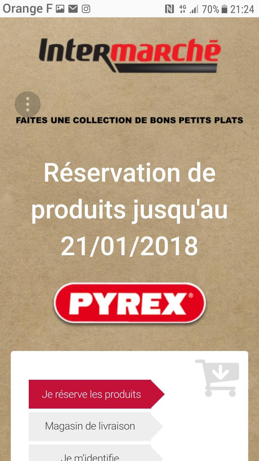 LoulousRupture Certains L'offre Plats Intermarché De Pyrex 3 Mes WodeCxrB