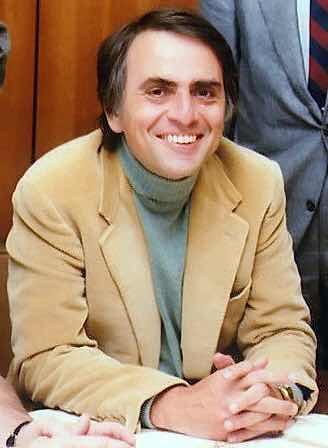 Scientist Carl Sagan has a disturbing predicament for today's world