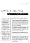 Raven Grimassi Interview Exploring the Magic of the Ancients